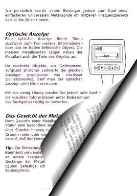 Schatzsucherhandbuch - Tipps für die Schatzsuche mit Metalldetektor