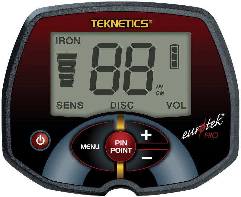 Metalldetektor Teknetics Eurotek PRO (LTE)