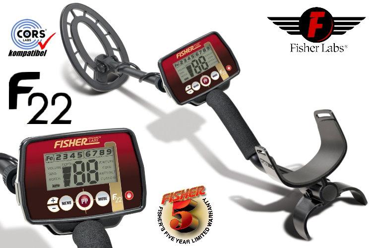 Fisher F22 Metalldetektor