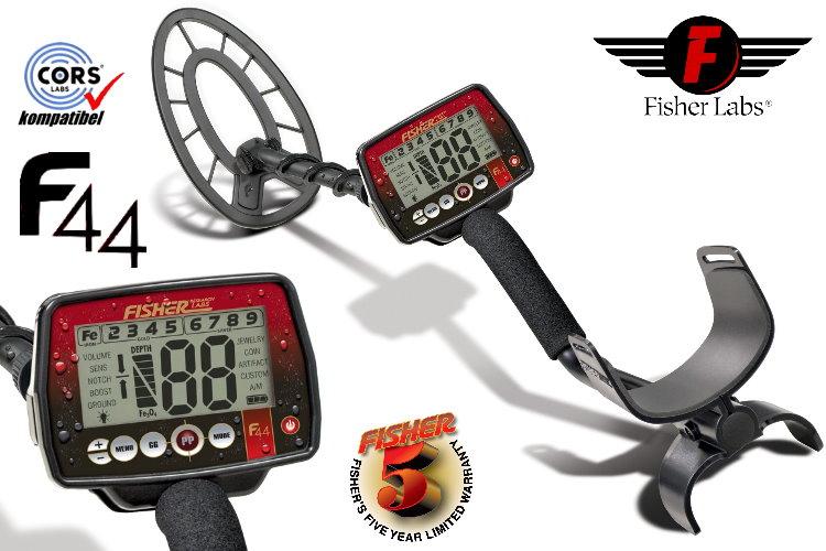 Fisher F44 Metalldetektor